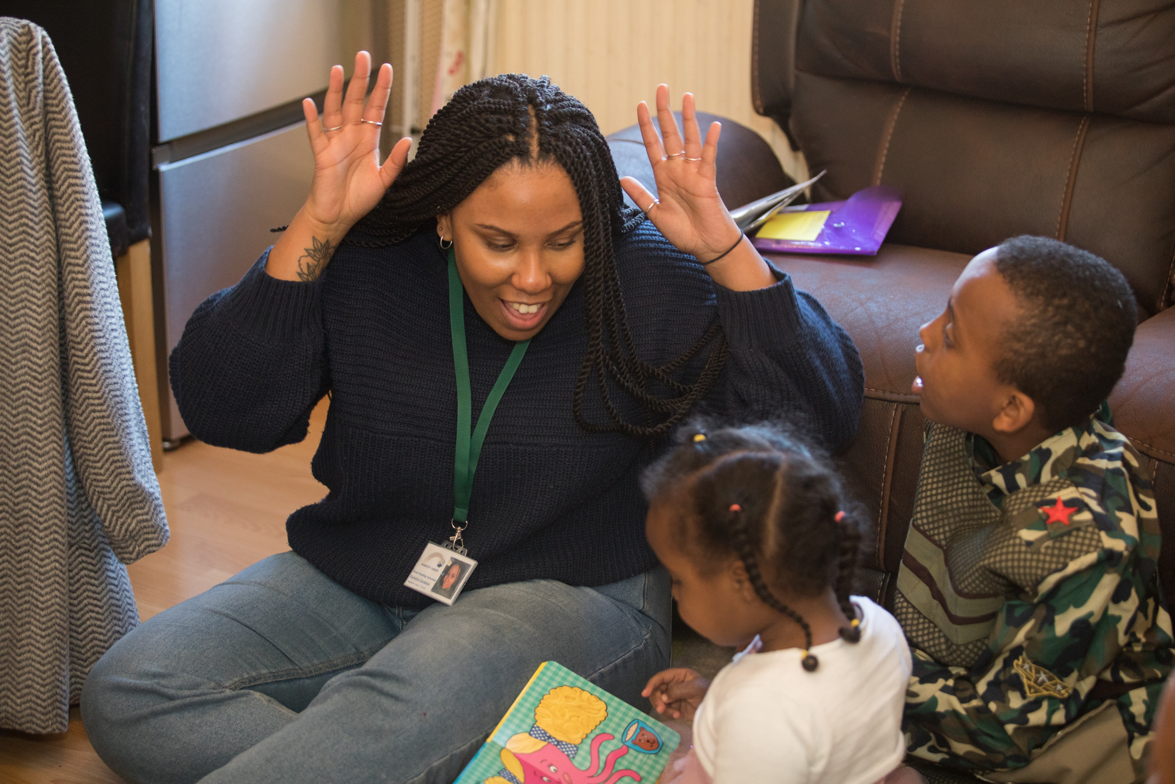 Volunteer to read with children this New Year