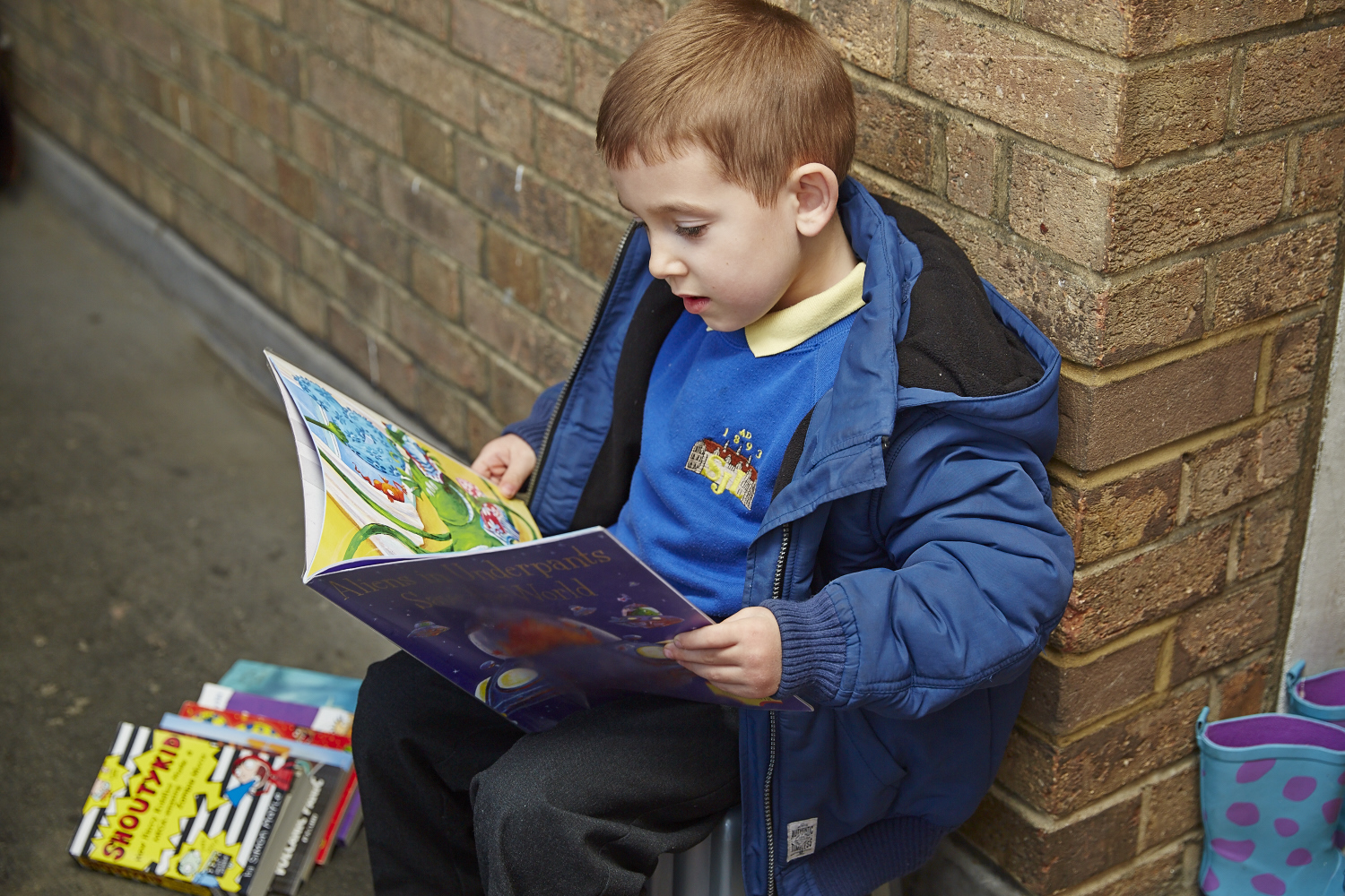Doorstep Library's weekly e-visits