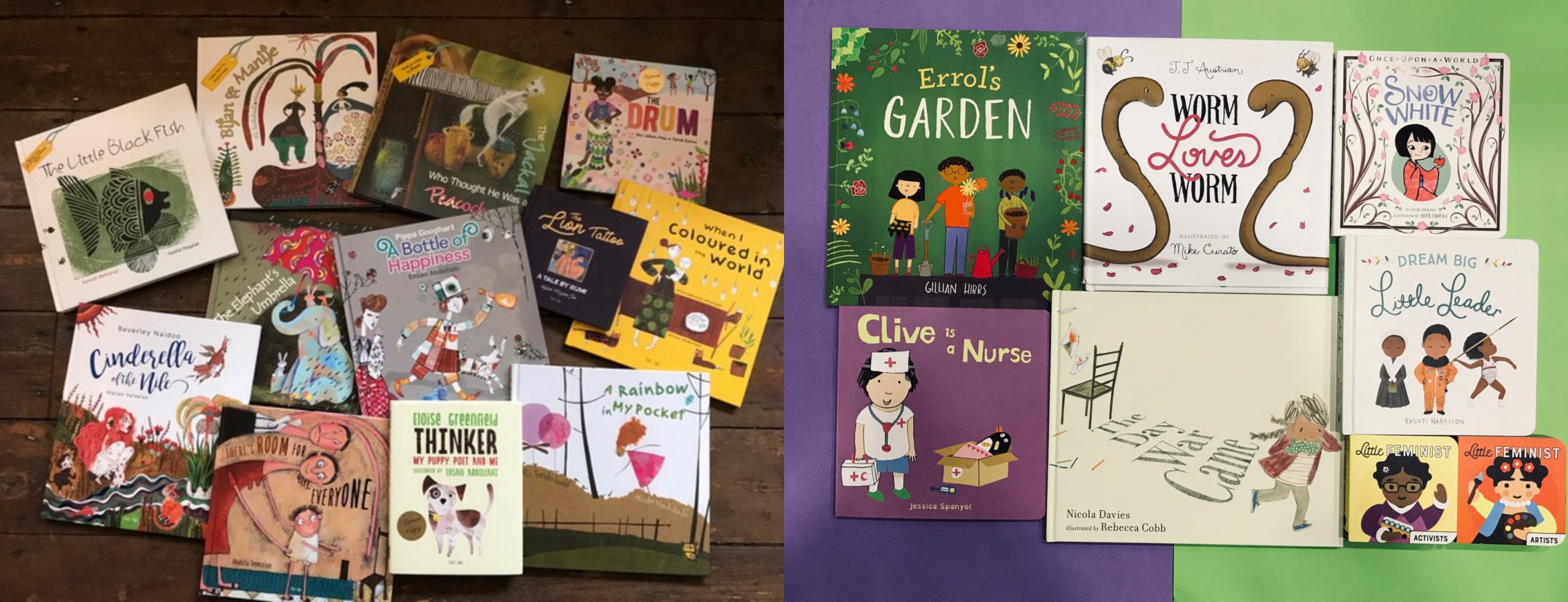 greater diversity in children's books and publishing